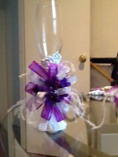 Copas decoradas para bodas