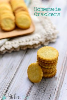 Homemade graham crackers recipe pinterest graham crackers crackers dont need to be an after thought these particular crackers are solutioingenieria Images