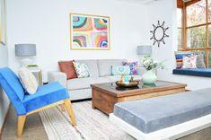 Proyectos archivos   El Blog del Decorador Living Comedor, Couch, Grande, Table, Furniture, Home Decor, Entryway, Lofts, Hanging Furniture