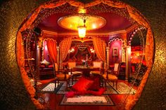 The Moulin Rouge Suite at Victoria Court
