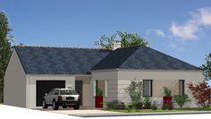 Maison  de 99,00 m²  de plain-pied