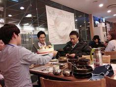 Misaeng: Celebrating Lee Sung Min's birthday.