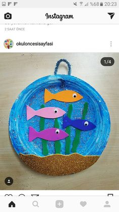 Paper Plate Crafts For Kids, Animal Crafts For Kids, Summer Crafts For Kids, Toddler Crafts, Toddler Activities, Projects For Kids, Art For Kids, Kindergarten Crafts, Daycare Crafts