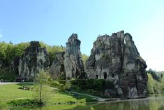 Externsteine – magical rocks in the Teutoburger Wald