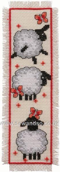 Cute Sheep Bookmark
