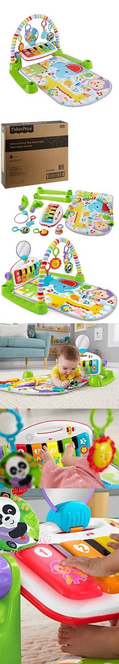 Baby Infant Tummy Time Water Play Mat Inflatable Pat Splash Placemat Fish Toys