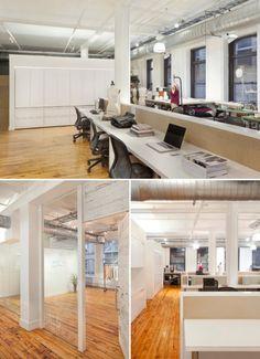 Open Plan Office of fashion office! :) #openplanoffice Cubicles.com
