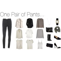 One Pair of Pants by stractstyle on Polyvore