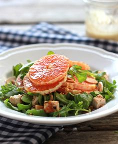 Have you ever had a pink orange? Try this Cara Cara orange salad for a bright and satisfying meal.