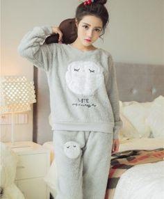 Owl Pajama Set Only  29.99 Fleece Pajamas 6f56d37d1