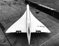- Le Concorde - One of the most beautiful plane in my opinion.