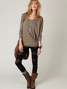 I might start returning to my grungy hippy roots again this fall. Only done better. And with a preppy twist.