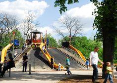 A szerkesztőség tagjai között felosztottuk Budapestet, és megkíséreltük a lehetetlent: megkerestük a főváros legjobb játszótereit. Összeállításunkban nem törekedhettünk a teljességre, ahhoz túl sok a jó hely. Hungary, Budapest, Fair Grounds, Park, Fun, Travel, Viajes, Parks, Destinations