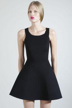 Kim West Fashion - Neoprene Scalloped Dress