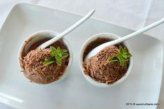 Inghetata de ciocolata foarte cremoasa | Savori Urbane Parfait, Eggs, Beef, Urban, Breakfast, Food, Candy, Meat, Morning Coffee