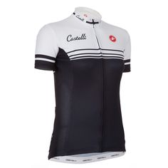 Wiggle | Castelli Ladies Stripes Wiggle Exclusive SS Jersey | Short Sleeve Cycling Jerseys £55.30