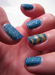 Over The Topcoat: Liquid Sand Manicure