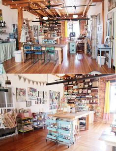 348 best art studio spaces images on Pinterest | Art studios, Work ...