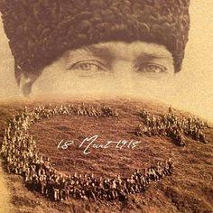 """18 Mart'ın """" 100. Yılında """" tüm şehitlerimizi minnetle anıyoruz..."""