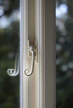 Casement Window Handle - The Sash Window Workshop Timber Windows, Wooden Windows, Casement Windows, Sash Windows, Windows And Doors, Window Handles, Door Handles, Baby Cartoon Drawing, Door Furniture