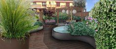 6 trucchi per rendere grande un piccolo giardino