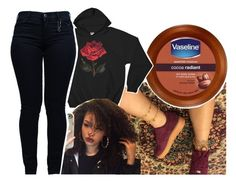 """""""woke up late"""" by thepride-lands ❤ liked on Polyvore featuring Armani Jeans"""