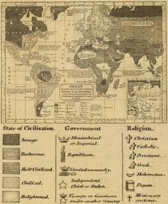 """The World."" 1824 map."