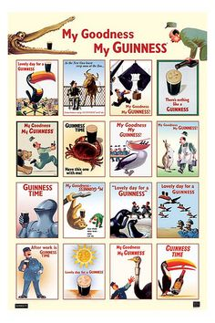 guinness-collage by jbrookston, via Flickr