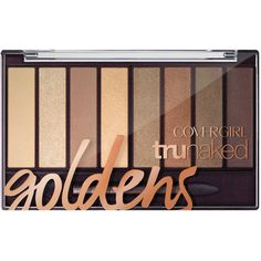 CoverGirl Tru Naked Eyeshadow Palette 0.23 oz (13 CAD) ❤ liked on Polyvore featuring beauty products