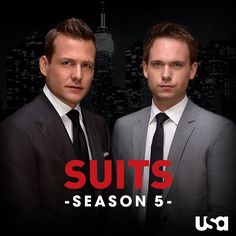 It's a great day to be a Suits has been renewed for a fifth season! SHARE the good news. Suits Season 5, Suits Tv Series, Donna Paulsen, Suits Harvey, Sarah Rafferty, Gina Torres, Suits Usa, Good Looking Actors, Gabriel Macht