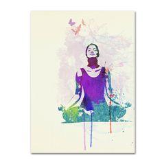Trademark Fine Art Naxart 'Meditating Mind' Canvas Art