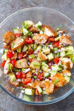 Healthy Avocado Chicken Salad - This salad is so light, flavorful, and easy to make! Perfect for your next barbecue or potluck Avocado Chicken Salad - This salad is so light, flavorful, and easy to make! Perfect for your next barbecue or potluck! Healthy Cooking, Healthy Snacks, Healthy Eating, Healthy Recipes, Healthy Drinks, Healthy Dishes, Healthy Potluck, Kid Snacks, Healthy Fruits