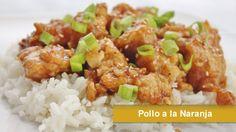 Pollo a la Naranja, Orange Chicken, Recetas asiaticas, comida china, recetas faciles.