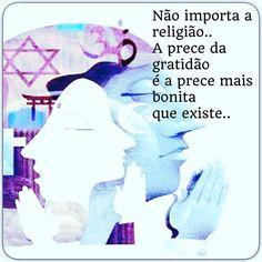 ✨ Não importa a religião, desde que sejamos gratos✨✨ Boa Noite! ✌️❤️ #espiritualidade#prece#gratidao#paz#boanoite#universo #vida#instadobem#sabedoria#alma#amor#instagood#luz#energia#