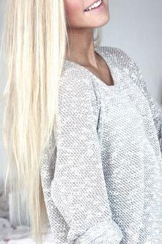 Open Knit Sweater.