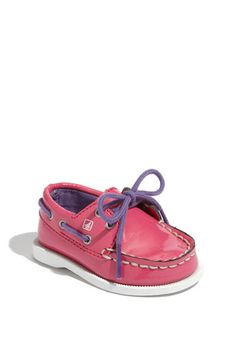 Sperry Top-Sider® Baby shoe. LOVE! Miabella MUST have these!