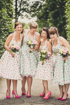 A Very British 50′s Retro and Colourful Afternoon Tea Style Wedding | Love My Dress® UK Wedding Blog