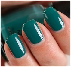 Solid Colored Nails / China Glaze Exotic Encounters Nail Lacquer
