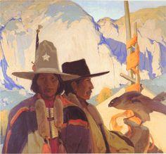 Victor Higgins  Apaches