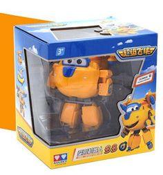15 cm Big Size Super Wings Jett transformation robot jimbo Deformation Toys Brinquedos birthday goft for children
