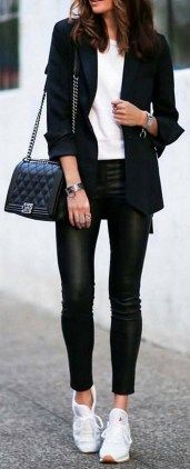 Casual blazer outfit for women (111)