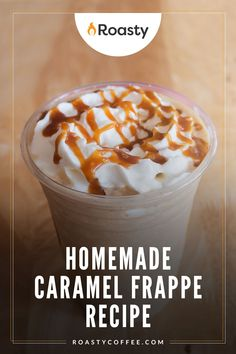 Take this Mcdonalds copycat recipe to the kitchen for the days you're looking for an extra treat. Add as much caramel as you'd like - pretty sure Mcdonalds uses copious amounts in theirs! This homemade frappe is the caffeine kick you need... why not make it now?! // coffee // recipe coffee // diy coffee // recipes with coffee // coffee recipes // at home coffee recipes // delicious coffee // Coffee Drink Recipes, Coffee Drinks, Homemade Frappe, Caramel Frappe Recipe, Hamburger And Fries, Caramel Treats, Blended Coffee, Coffee Coffee, Copycat Recipes