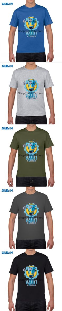 GILDAN funny men t shirt Game Borderlands T Shirt Men 2016 Men's WELCOME  HUNTER T-Shirt Funny Short Sleeve Top Tees 3XL