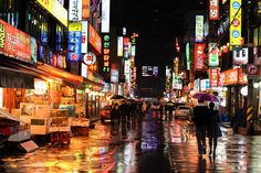 Soaked Seoul. by stuckinseoul, via Flickr