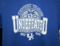 Men College Sport Apparel Kentucky Wildcats 2015 Trademark Logo-Score Tee Shirt #KentuckyWildcats #KentuckyWildcats