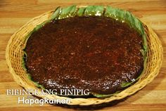 Sticky pounded rice flakes cake, soaked in coconut milk, cooked in thick coconut sugar mixture and broil with the same thicken caramel on top.  Directions: