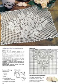 "Photo from album ""FiletHakeln Sonderheft - FI 307 Filethakeln"" on Yandex. Filet Crochet Charts, C2c Crochet, Crochet Diagram, Crochet Home, Crochet Square Patterns, Crochet Designs, Unique Crochet, Beautiful Crochet, Crochet Tablecloth"