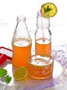 sparkling apple lemonade