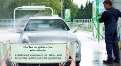 Vedlikeholdsoppgaver hver 6. måned Voks bilen for å øke livstiden på lakken og forhindre rust. #sommerdekkene