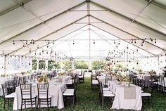 Ruffled - photo by Christina Bernales Photography http://ruffledblog.com/vermont-garden-wedding